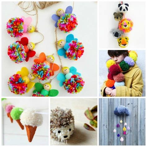 pom pom craft projects 25 wonderful pom pom crafts and project ideas ted