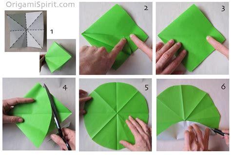 origami circle paper tarjetas imprimibles c 243 mo hacer un molinete inflable para