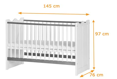 dimensions of a baby crib princess cot bed to junior bed funique co uk