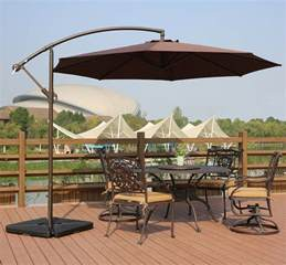 best offset patio umbrella best patio umbrella how to select the best patio