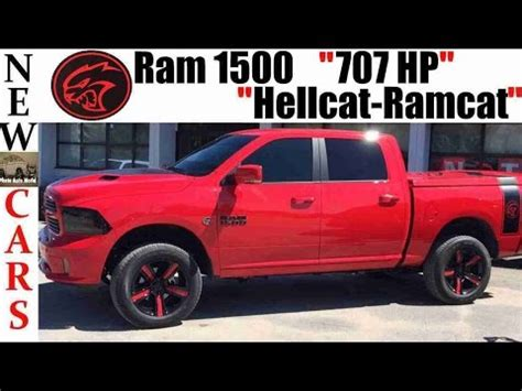 Dodge Hellcat Truck by New Ram 1500 Truck Hellcat Powered 707 Hp Ramcat