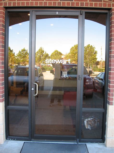store front glass doors lancaster glass storefront glass