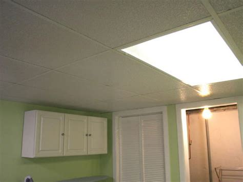 Drop Ceiling by Installing A Drop Ceiling In A Basement Laundry Hgtv