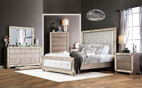 accent bedroom furniture ailey bedroom furniture with mirrored accents