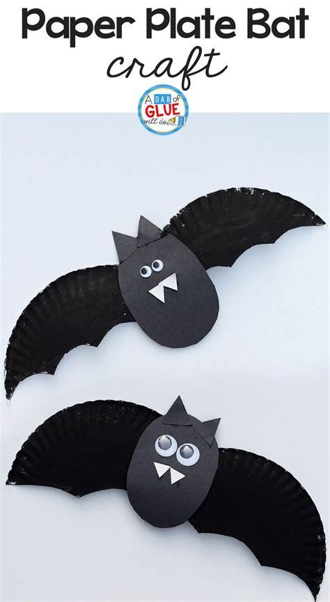 paper plate bat craft best 25 bat craft ideas on diy bats