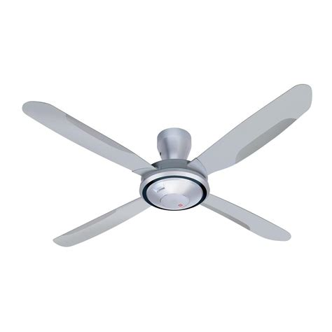 Silver Ceiling Fan With Light kdk v56vk ceiling fan bacera