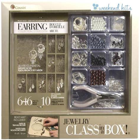 silver jewelry kits silver gunmetal earring kit jewelry kits at