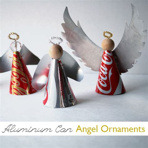 Make Aluminum Can Ornaments