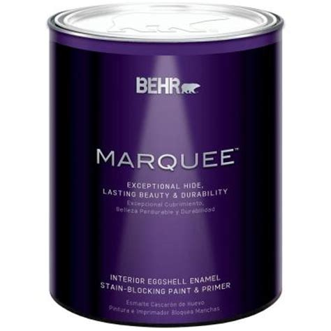 home depot behr marquee paint colors behr marquee 1 qt medium base eggshell enamel interior
