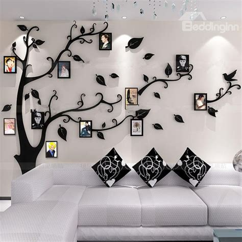photo frame wall stickers photo frame tree country style acrylic 3d waterproof 11