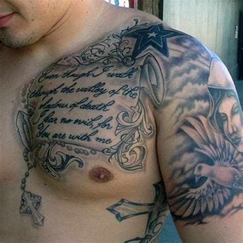 17 best ideas about chest tattoos for men on pinterest