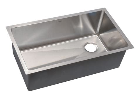 stainless steel undermount single bowl kitchen sink as361 31 25 quot x 18 quot x 10 quot 18g single bowl undermount legend