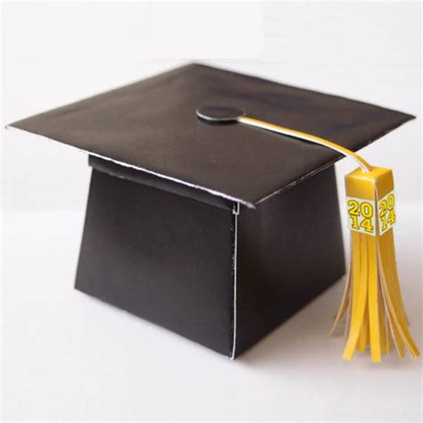 how to make a graduation card holder box black and gold graduation b lovely events