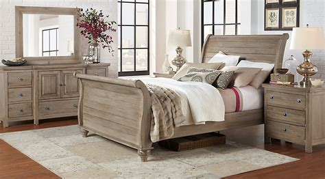 king sleigh bed bedroom sets summer grove gray 5 pc king sleigh bedroom king bedroom