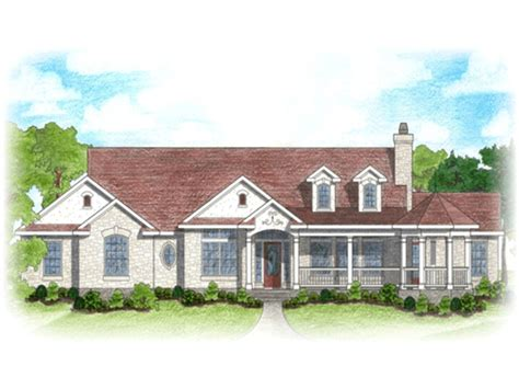 ranch house with wrap around porch ranch