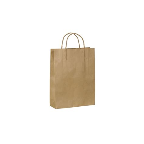 Kraft Paper Bag Small With Handle 260 W X 350 H X 95mm