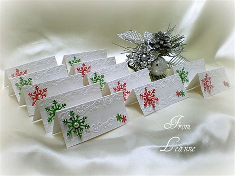 make place cards sting a dinner place cards and