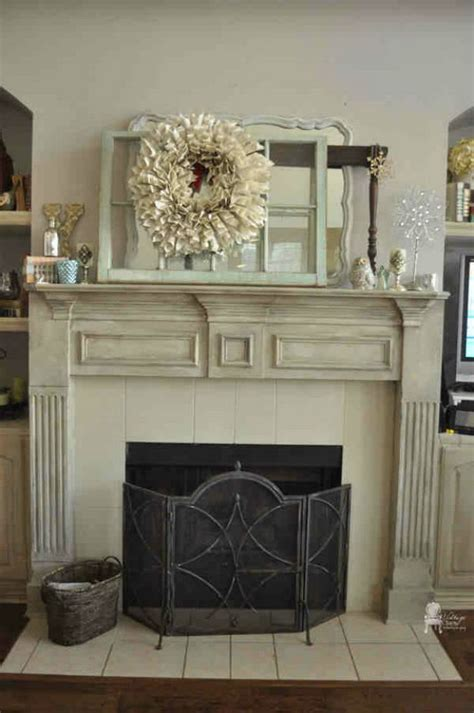 diy chalk paint fireplace 20 budget friendly diy chalk paint furniture ideas noted