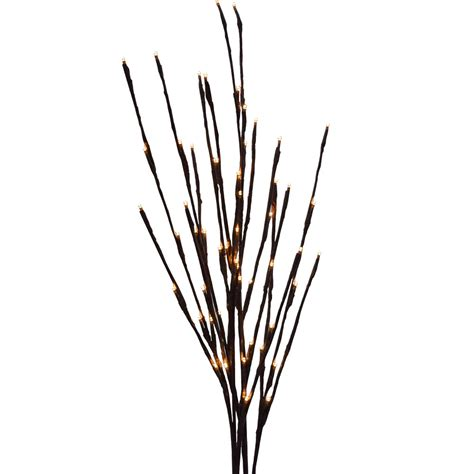 led lighted branches battery operated warm white led lighted branches 39