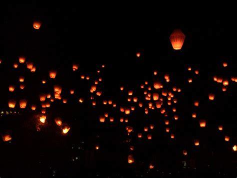 lighting up the sky pingxi lantern festival strangers in taiwan