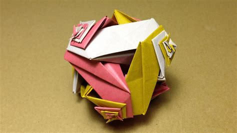 how to make modular origami modular origami knitted tutorial