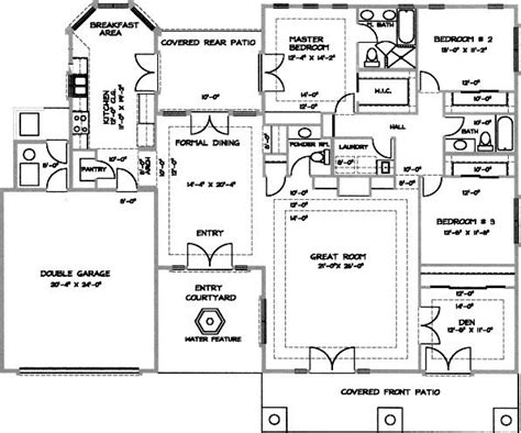desert home plans 3 bedroom 2 bath contemporary house plan alp 05j0