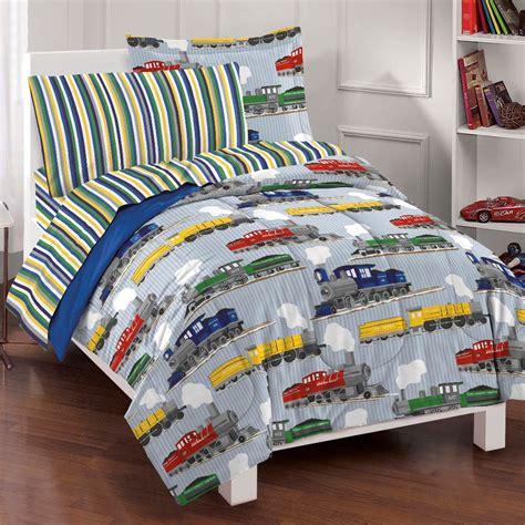 boys bedroom bedding sets new trains boys bedding comforter sheet set ebay