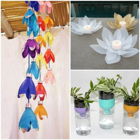 plastic bottle crafts for step by step tutorial best out of waste ideas from