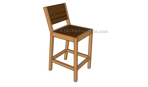 bar stool woodworking plans pallet bar stool plans myoutdoorplans free woodworking