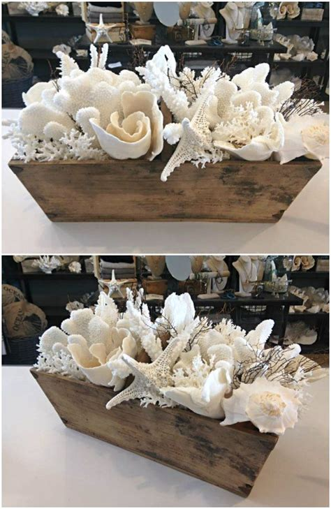 seashell decorations best 25 seashell centerpieces ideas on