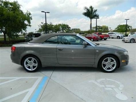 2007 Audi A4 Cabriolet by Find Used 2007 Audi A4 Quattro Cabriolet Convertible 2