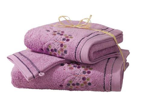 pack linge de toilette 2 gants la serre aux papillons linvosges