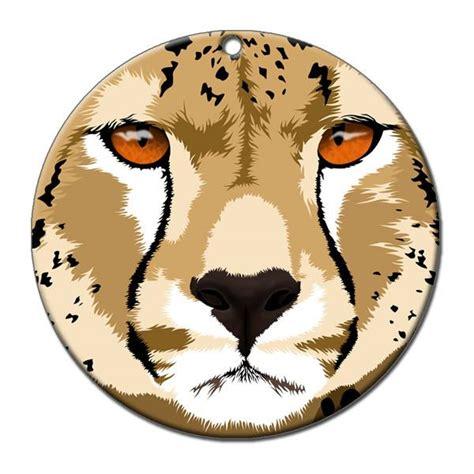 cheetah ornaments cheetah ornament