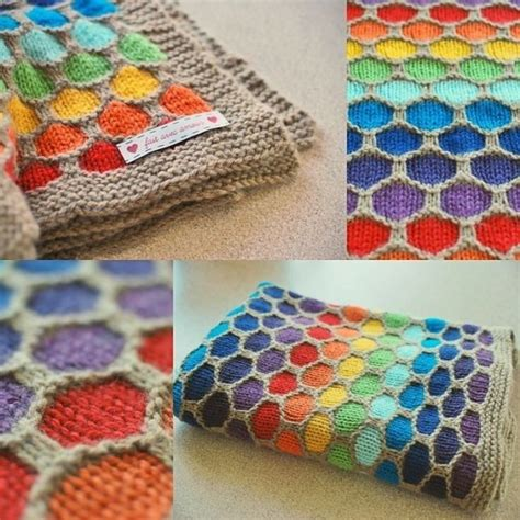 honeycomb knitting pattern honeycomb knitted blanket pattern tutorial