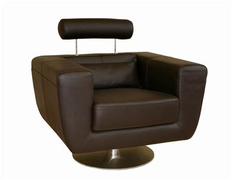 swivel leather club chairs tad leather modern club chair swivel brown ebay