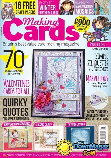 card magazines uk cards uk january 2016 187 pdf magazines