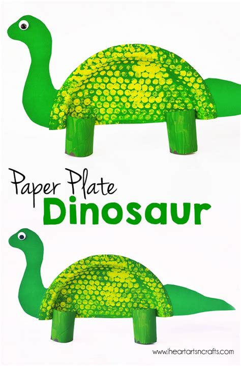 paper plate dinosaur craft paper plate dinosaur craft i arts n crafts