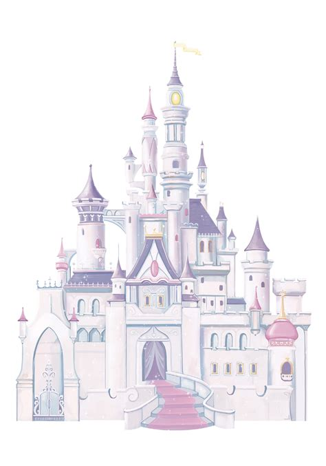 princess castle wall stickers princess castle wall decals with glitter