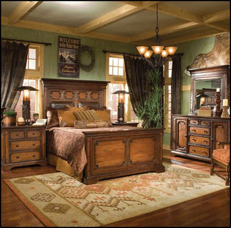 rustic master bedroom furniture southwestern american indian mexican rustic style