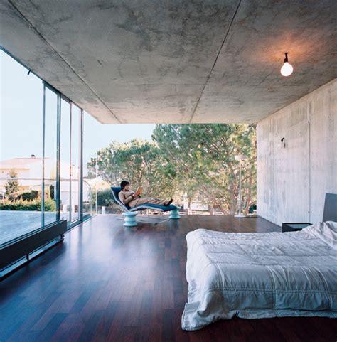 open space bedroom design villa bio by enric ruiz geli 5 thecoolist the modern