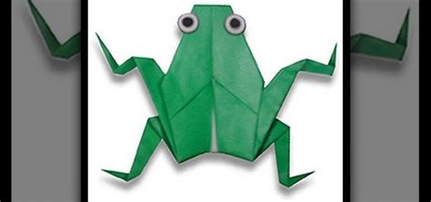3d origami basics how to make a 3d origami frog for origami beginners 171 origami