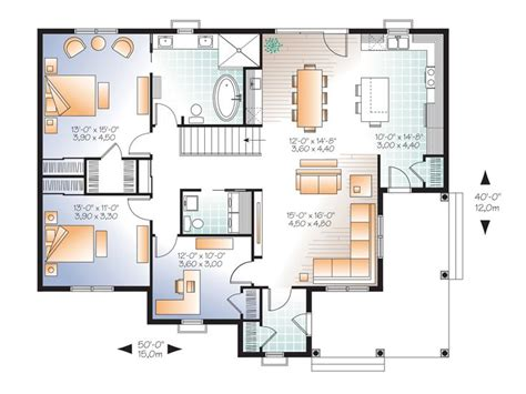 empty nest floor plans empty nester house plans country traditional empty