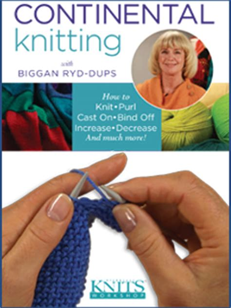 continental cast on knitting continental knitting