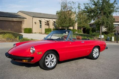Alfa Romeo United States by Sell Used 1976 Alfa Romeo Spider Veloce Juliet In