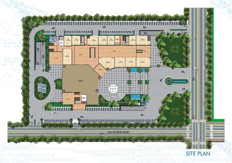 Rectangle House Floor Plans urbtech npx nehru place extension lord krishna real