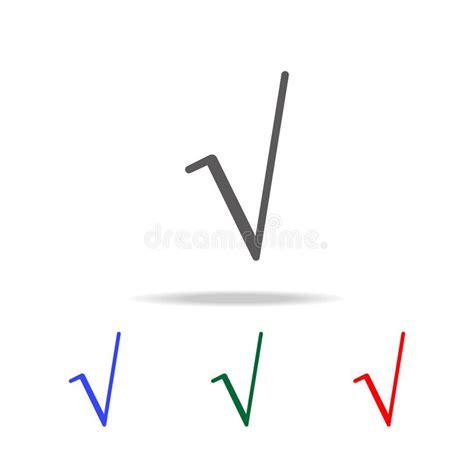 s mbolo ra z cuadrada icono del s 237 mbolo de la ra 237 z cuadrada elementos en los