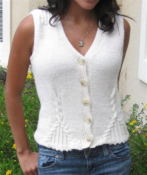 knit vest pattern soleto vest knitting pattern ek home