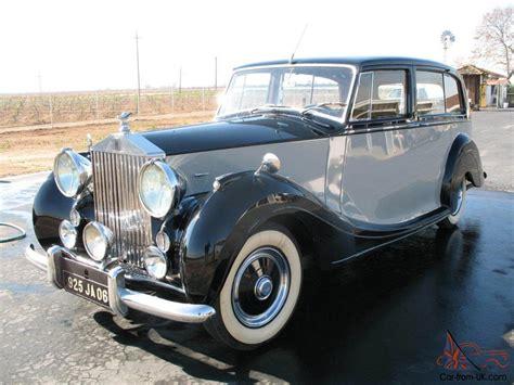 1951 Rolls Royce by 1951 Rolls Royce Silver Wraith Milliner 7p Limousine Great