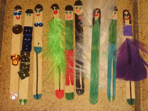 popsicle craft projects you to see popsicle stick dolls on craftsy