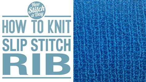 how to finish a knit stitch ribbing 3 5 new stitch a day